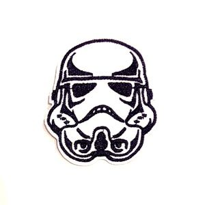 Storm Trooper patch Star Wars iron on Empire DIY